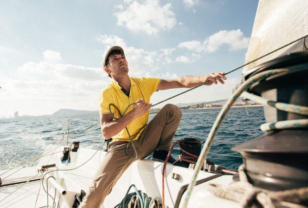 męska odzież żeglarska